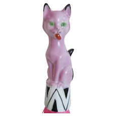 Rare Art  Deco Cat Half Doll Whisk Broom - Germany