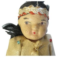 Bisque Doll American Indian Outfit
