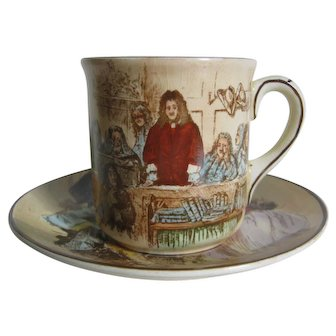 Royal Doulton Sir Roger de Coverley Cup and Saucer