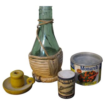 Collection Of Doll Food / Kitchen Items