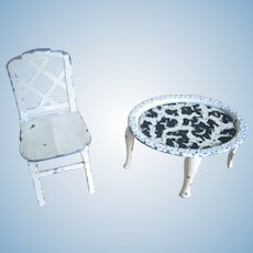 Tootsie Toy Side Table & Chair