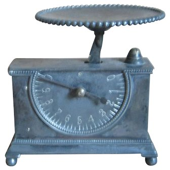 Silverplate Miniature Scale For Doll House