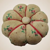 Adorable Vintage Doll's Pin Cushion