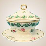 Miniature Doll House Tureen Roses - Richard Ginori Italy