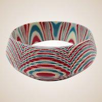Wild Bohemian Style Plastic Bangle Bracelet
