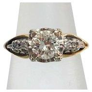 Gorgeous Vintage Estate Diamond Engagement Ring