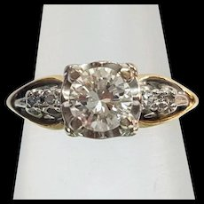 Gorgeous Vintage Estate Diamond Engagement Ring