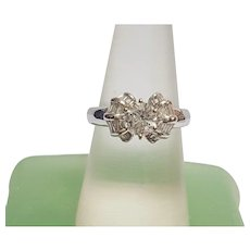 Gorgeous Vintage Deco-Style Diamond Engagement Ring