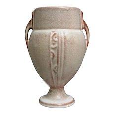 """Roseville Pottery Moderne Vase #787-6"""", Pink, c. 1936"""