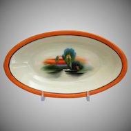 Noritake Porcelain Hand Painted Dish, c. 1925