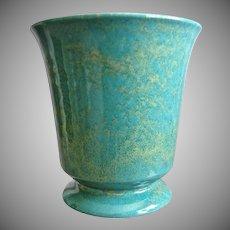 "Large Cowan Pottery Vase #V-29, ""Azure"" Matrix Glaze, Ca. 1930"