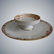Nippon Hand Painted Tiered Dish