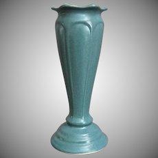 Elegant Pottery Pedestal Vase #217