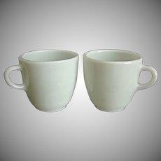 Pyrex Restaurant Ware Mugs, Set of 2