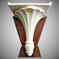 Abingdon Pottery Wall Shelf #589, Circa 1942