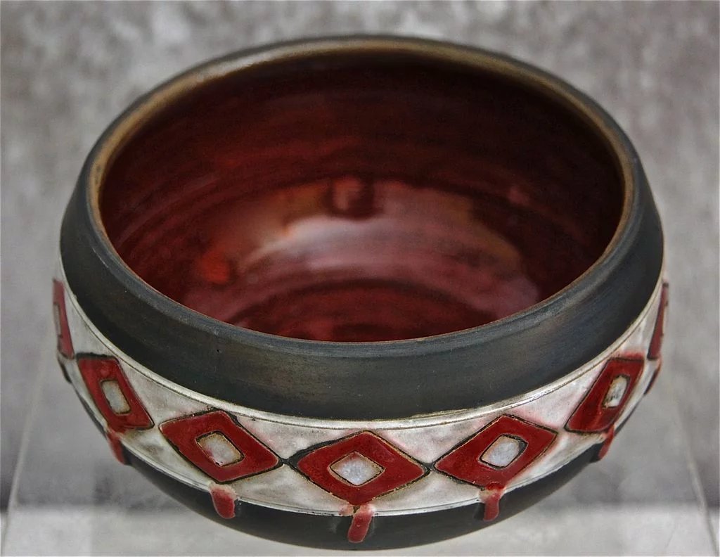 Handmade Russian Pottery Bowl Circa 1970 The Devil Duck Collection Ruby Lane