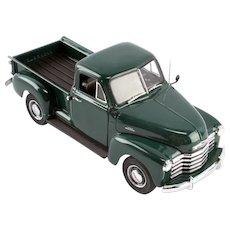 Danbury Mint 1953 Chevrolet Pickup, 1:24 Scale, w/Box