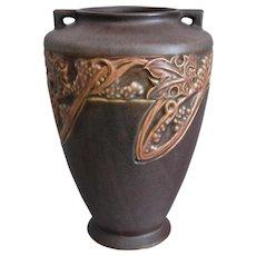 "Roseville Pottery  Rosecraft ""Vintage"" Vase #278-8"", Circa 1925"