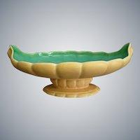"""Large Cowan Pottery Bowl #731, """"Nasturtium"""" Glaze, Circa 1926"""