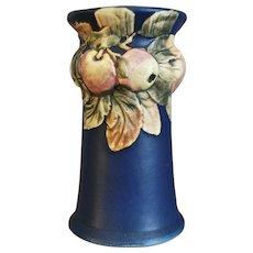 """Weller Pottery Baldin 10"""" Vase, Blue, c 1920 - Red Tag Sale Item"""