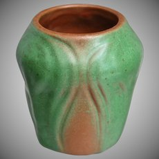"Van Briggle Pottery 3"" Vase #310, Brown, Ca. 1930"