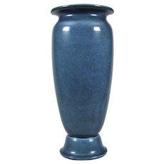 "Rookwood Pottery 10"" Production Vase #2787, Blue Mat, 1924"