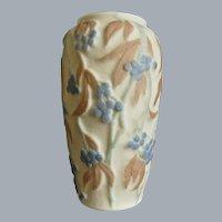 Consolidated Martele' Bittersweet Vase, Tri-Color, c. 1930
