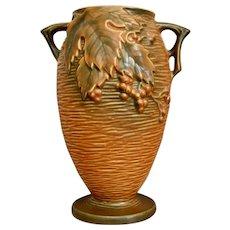 "Roseville Pottery Bushberry Vase #35-9"", Orange, c. 1941"