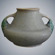 "Roseville Pottery Tuscany Vase #341-5"", Grey, Circa 1927"