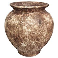 "Roseville Pottery Early Carnelian Vase #46-8"", Brown, c. 1916"