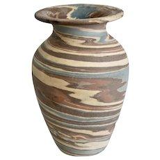 Niloak Pottery Missionware Cabinet Vase, Ca. 1915