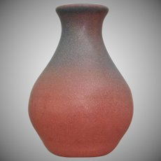 "Van Briggle Pottery Hand Thrown 5"" Vase, Persian Rose, Ca. 1965"
