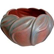 Van Briggle Pottery Bowl #510, Persian Rose, c. 1940
