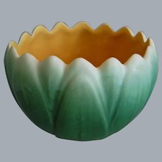 Weller Pottery Pumila Bowl, Circa 1925