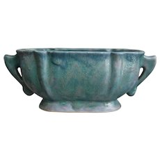 "Roseville Pottery Carnelian II Planter #61-6"", Ca. 1928"