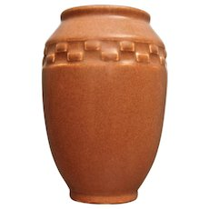 Rookwood Pottery Production Vase #2284, Rust Mat, 1931