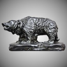 Mosaic Tile Co. Grizzly Bear Figure, c. 1935