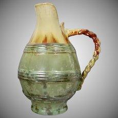 "Scarce Fulper Pottery 10"" Jug #540, Circa 1920"