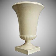 "Trenton Potteries Company 10"" Bernardo Urn, Ivory, Ca. 1938"