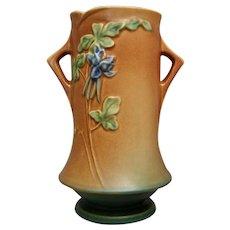 "Roseville Pottery Columbine Vase #20-8"", Ca. 1941"