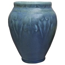 Rookwood Pottery Production Vase #2207, Blue Mat, 1919