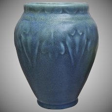 Rookwood Pottery Production Vase #2207, Blue Mat, 1919
