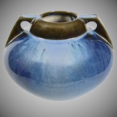 Fulper Pottery Vase #656, Blue Flambe, Ca. 1920
