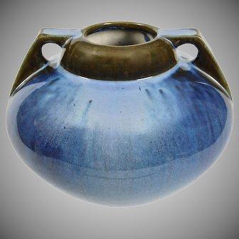 Fulper Pottery Vase #656, Blue Flambe, Ca. 1920