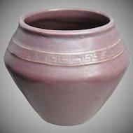 Zanesville Stoneware Co. Vase #104, Matte Lavender, Ca. 1920