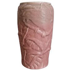 Large Rookwood Pottery Production Vase #6088, Pink Mat, 1928