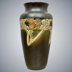 "Roseville Pottery Rosecraft ""Vintage"" Vase #277-8"", Circa 1925"