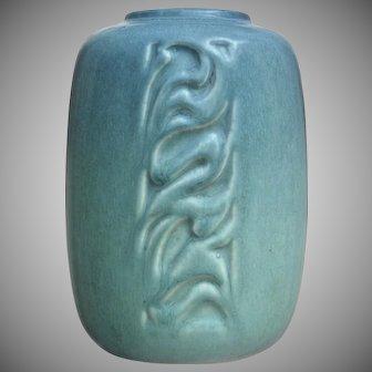 Rookwood Pottery Production Vase #1908, Blue, 1921