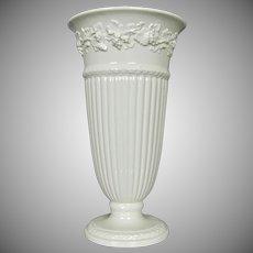 """Wedgwood Queen's Ware 11"""" Vase, Pre-1975"""
