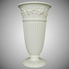 """Wedgwood Queen's Ware 13"""" Vase, Pre-1975"""
